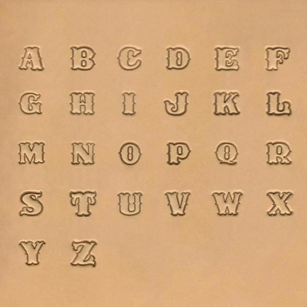 "Picture of Alphabet Stamp Set 1/2"" # 8130-00"