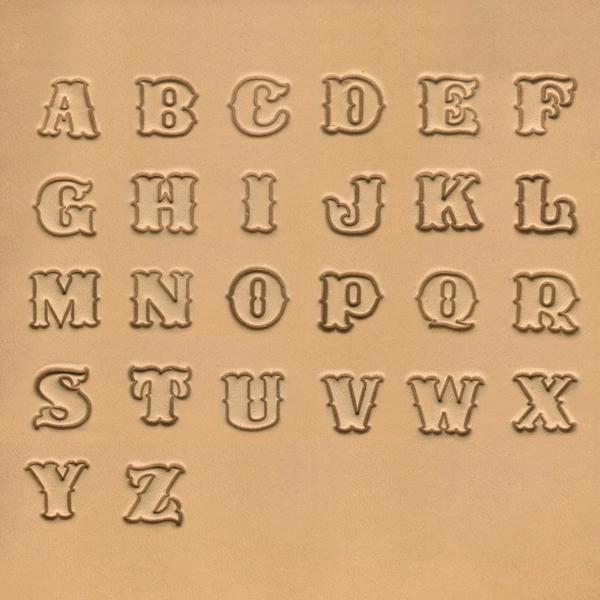 "Picture of Alphabet Stamp set 3/4"" #8131"