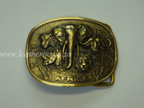 Picture of Buckle Big Five All in One 40mm MEDIUM Brass