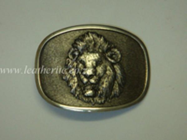 Picture of Buckle Big 5 Lion Head 40mm Aluminium MEDIUM