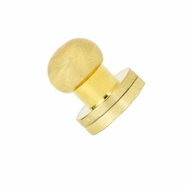 Picture of Screw Button Stud 8mm 11311-01 Brass