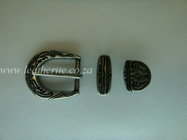 Picture of Buckle Set B122 A/ Silver 20mm