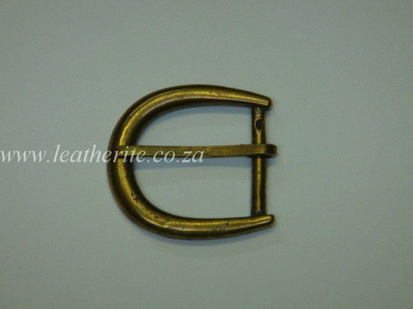 Picture of Buckle B26 A/Brass 30mm