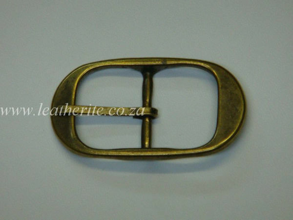 Picture of Buckle 30mm Ant Brass B98