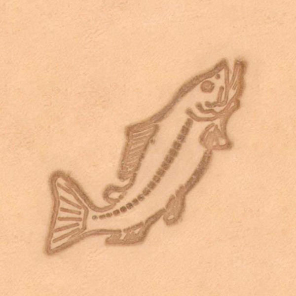 Picture of Pictorial Stamp Tool #8205 Trout