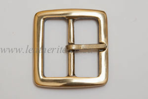 Picture of Buckle Full Square Solid Brass 38mm