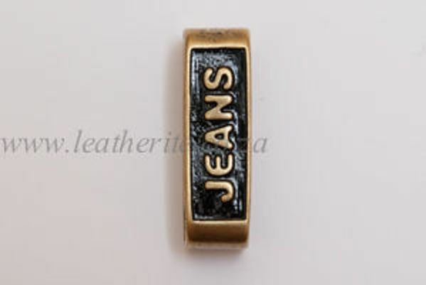Picture of Loops Jeans L6 Brass 40mm