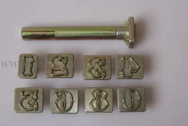 Picture of Number Stamp Set #8135