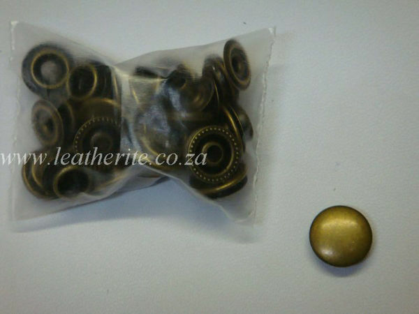 Picture of Press/st 15mm STP708  A/Brass