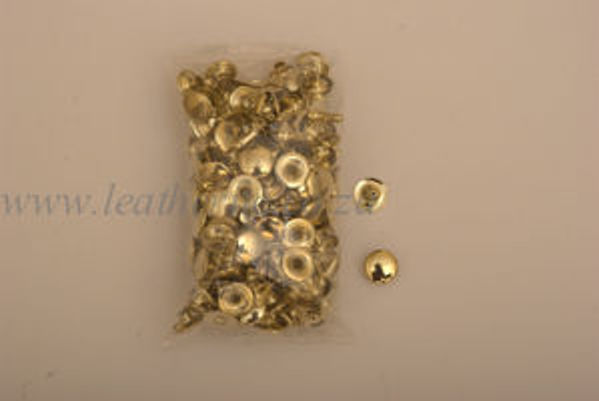 Picture of Rivets Rvt 8mm Rvt108 Brass Plated