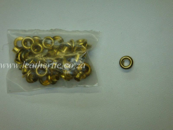 Picture of Eyelet small brass EYS261