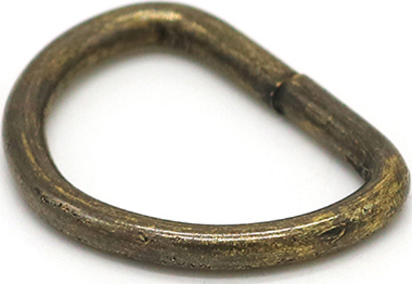 Picture of D-Ring DRHC17K  Ant Brass 19mm