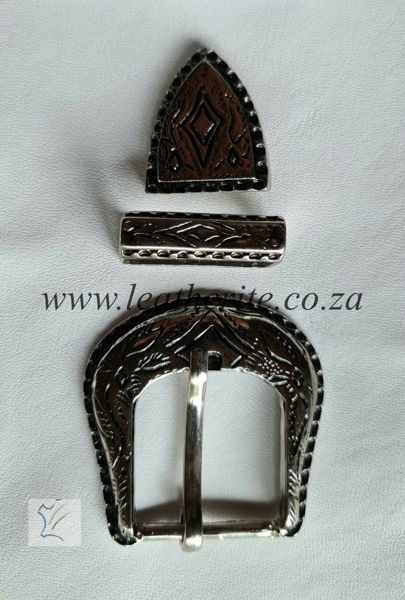 Picture of Buckle 30mm Nickel SET B125