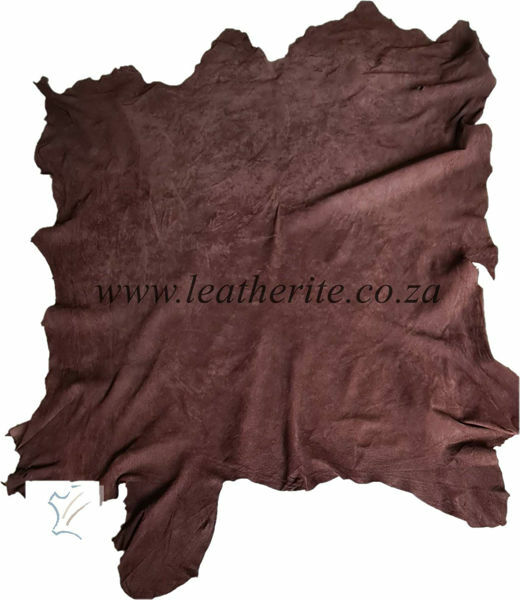 Picture of Pig Suede - Brown