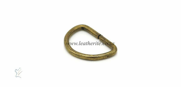 Picture of D-Ring Unwelded 22mm HC16K A/Brass