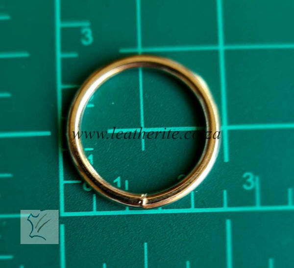 Picture of Solid Ring 20mm welded Nickel PC83