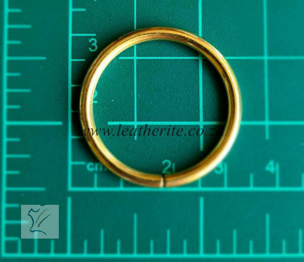 Picture of Economy Rings 1165-01 25mm Gilt