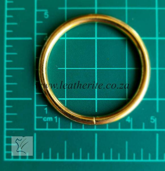 Picture of Economy Rings 38mm 1165-05 Gilt