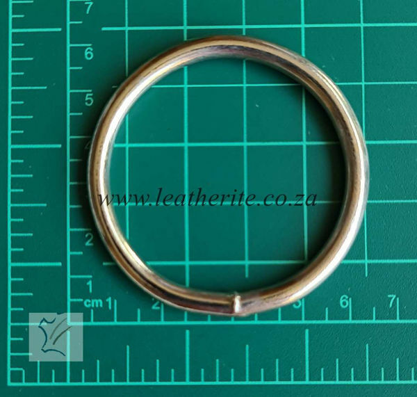Picture of Solid Ring 50mm x 5mm Nickel PC379