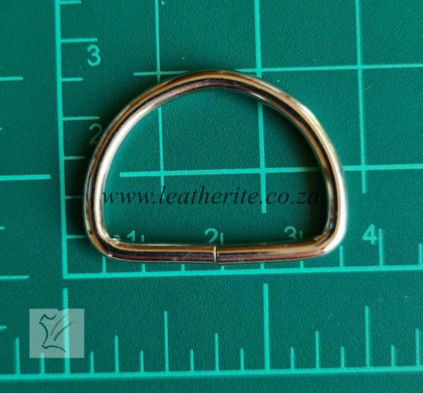 Picture of D-Ring 25mm unwelded  HC14 1166-02 N