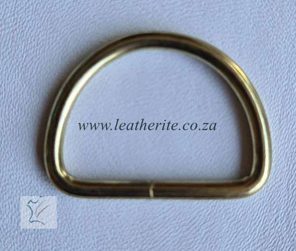 Picture of D-Ring 32mm unwelded   1166-03 Gilt