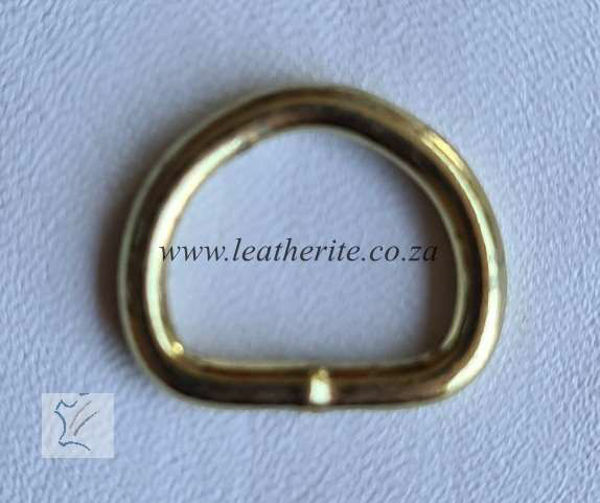 Picture of D-Ring 16mm DRHC203BWSBR Brass