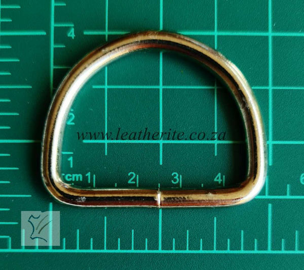 Picture of D-ring  HC118 Nickle 40mm