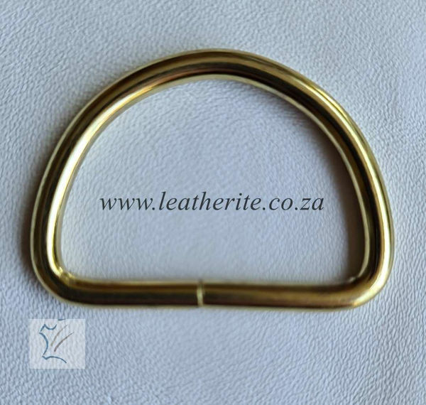 Picture of D-Ring 38mm unwelded 1166-05 Gilt