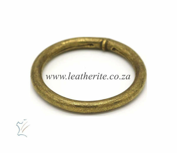 Picture of Solid Ring 40mm A/Brass HC378