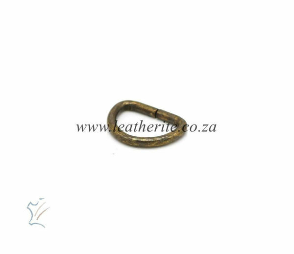 Picture of D Ring DRHC18K SOBRPC  Ant Brass 16mm