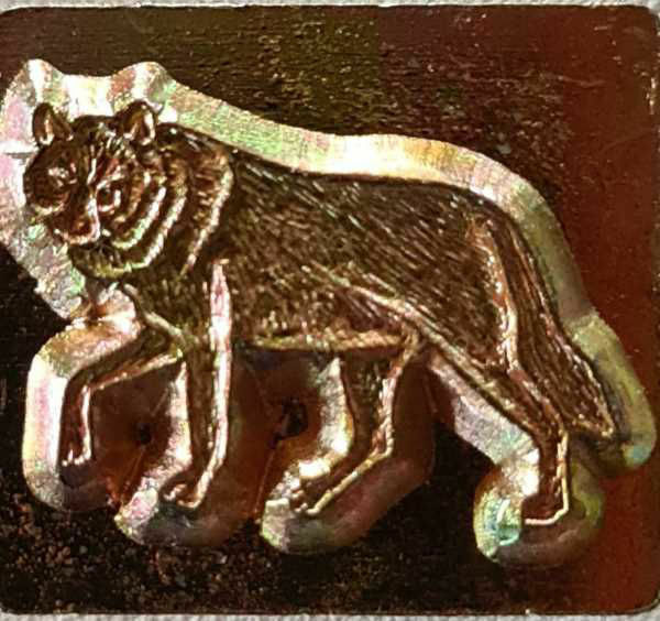 Picture of Stamp 3D 8530-00 WOLF