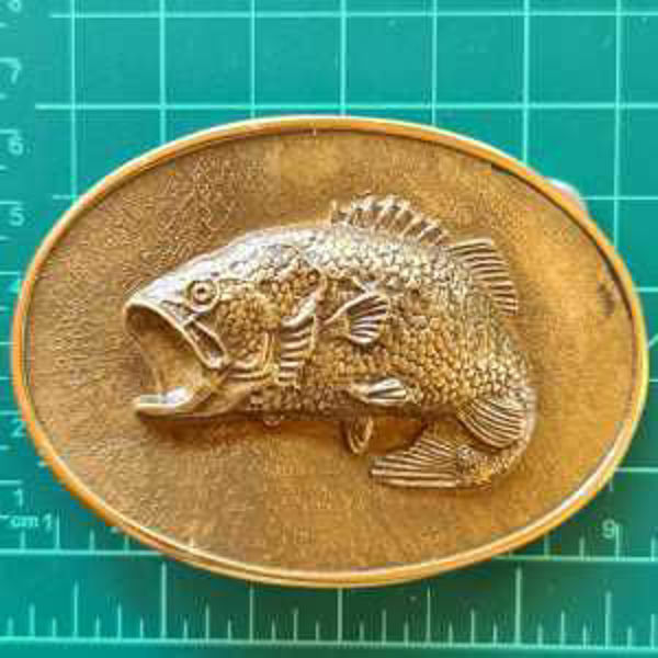 Picture of Buckle Oval Fish Brass