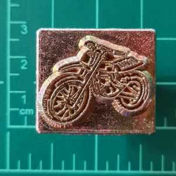 Picture of Stamp Motor Bike 8373