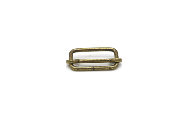 Picture of Slider 25mm Steel Old Brass