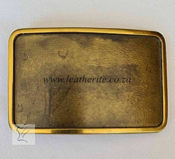 Picture of Buckle Solid Brass Blank RECTANGULAR