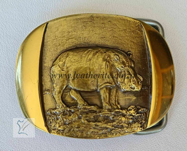 Picture of Buckles Hippo Brass F/BODY MED