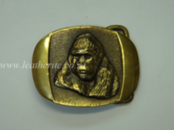 Picture of Buckle Gorilla Brass 40mm