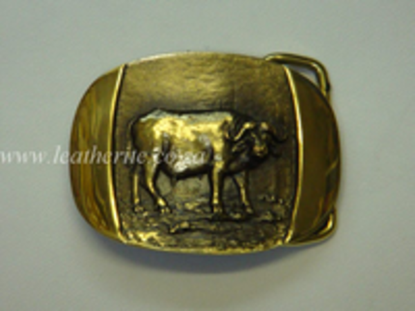 Picture of Buckle Big 5 Buffalo Brass F/BODY 40mm