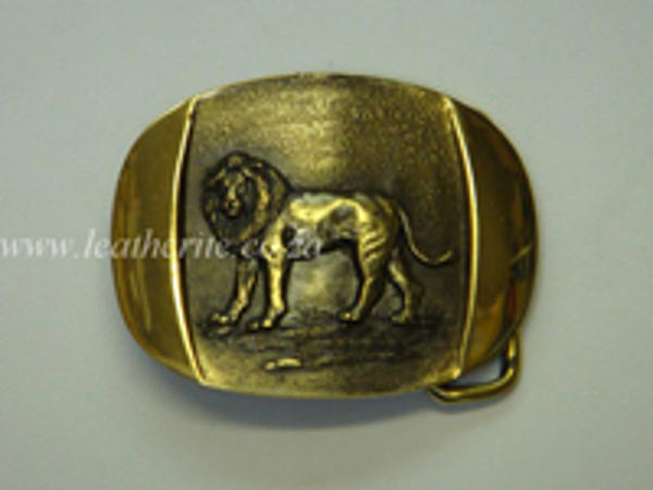 Picture of Buckle Big Five LION Brass F/BODY 40mm