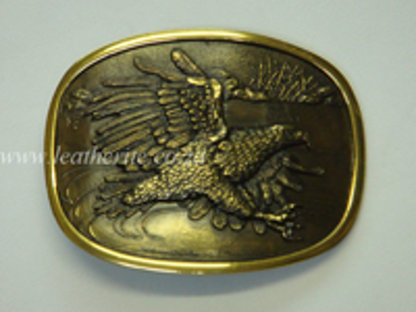 Picture of Buckle Eagle Fly 40mm Brass LARGE