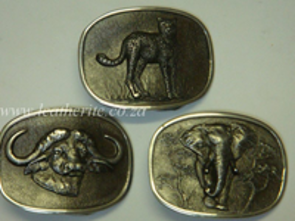 Picture of Buckle Big 5 Small 30mm Aluminium Assorted Animals