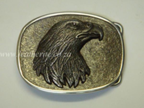 Picture of Buckle Eagle head 40mm Aluminium MEDIUM