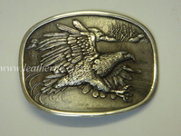 Picture of Buckle Eagle Fly 40mm Aluminium LARGE