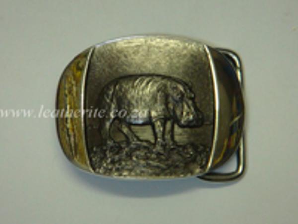 Picture of Buckle Hippo FULL BODY 40mm Aluminium MEDIUM