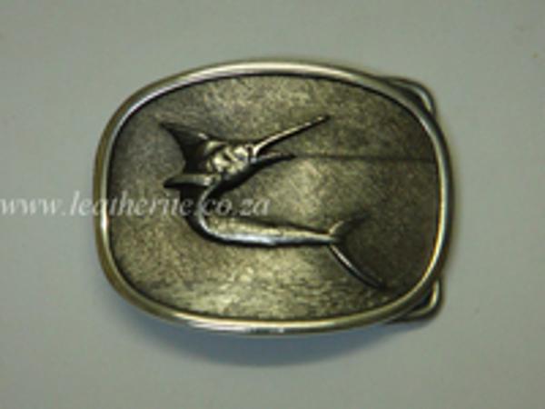 Picture of Buckle Sword Fish 40mm Aluminium MEDIUM