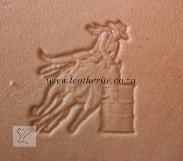 Picture of Stamp 3D COWBOY 8542