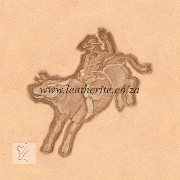 Picture of Stamp 3D BULL RIDER 8543-00