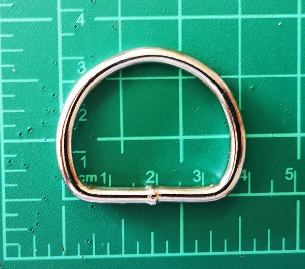 Picture of D-Ring 32mm Nic Welded HC207N