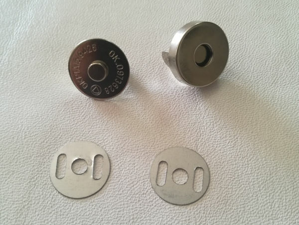 Picture of Magnetic Bag Clasp 14mm Nickel S-STC095