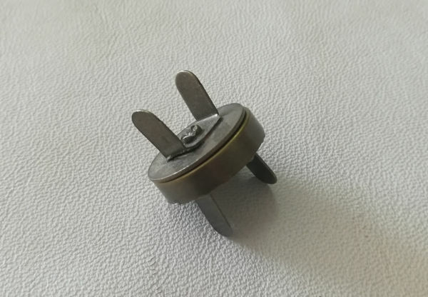 Picture of Magnetic Lock A/Brass 14mm STC097